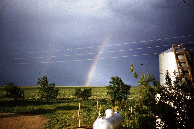 Rainbow on SE Colorado praire
